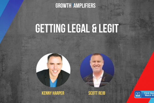 Getting Legal & Legit: Scott Reib