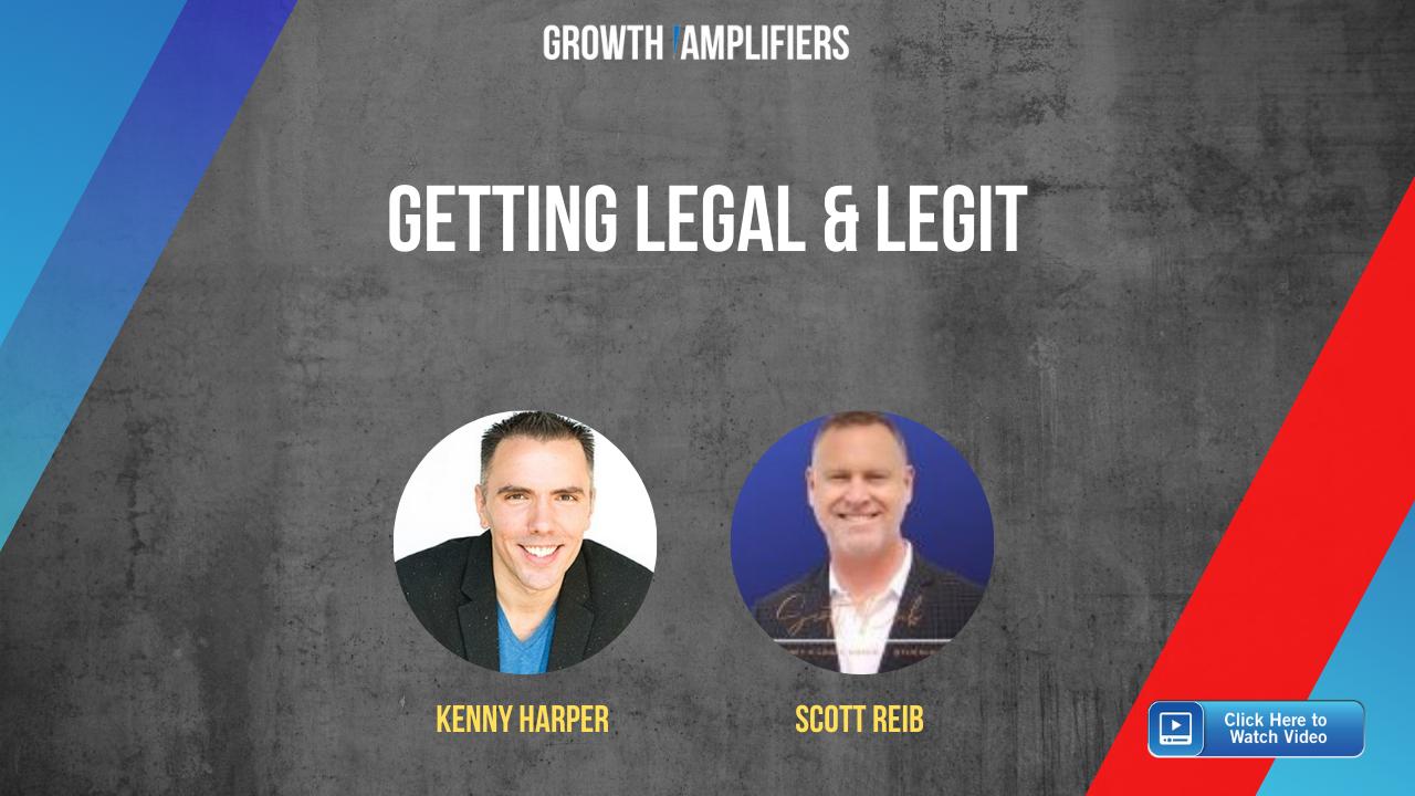 Getting Legal & Legit: Scott Reib