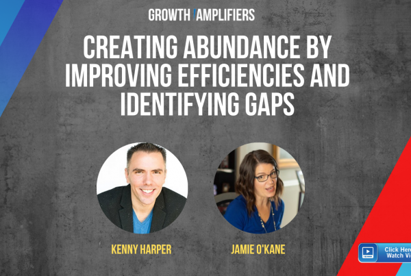 Creating Abundance by Improving Efficiencies and Identifying Gaps